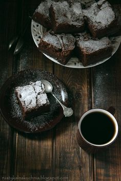 Magic Chocolate Custard Cake.
