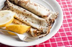 Light lemon crepes