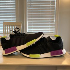quality design d5ab4 a4ed7 adidas Shoes   Adidas Nmd R1   Color  Black   Size  12
