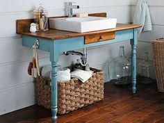 cool ideas of bathroom sink on desk