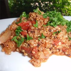 "Mexican Quinoa I ""Loved this recipe! It was full of flavor and quite filling."""