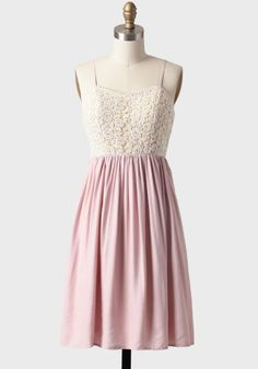 Dress like Quinn Fabray: graceful dance dress in blush $54.99 from Ruche