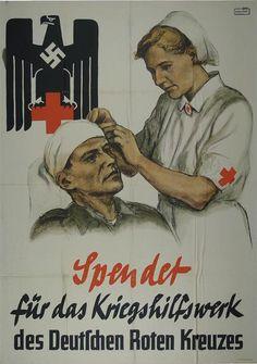 Spendet für das Kriegshilfswerk des Deutschen Roten Kreuzes