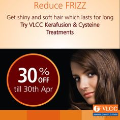 """""""Shiny, soft, beautiful hair"""" is the right of every woman. Exercise your right!  Give your hair a touch of nature with our revolutionary Cysteine hair treatment. Now available at 30% discount!"""