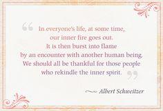 Schweitzer Quote #love #quote