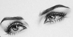 Realistic Graphite Art by Ileana Hunter  -- the eyes.... wow...