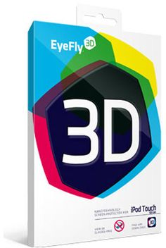 LAST FEW REMAINING  Nanoveu Eyefly3D Anti Scratch Screen Protector for iPod Touch 5th Gen
