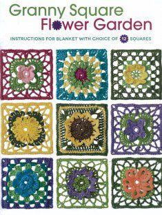 Granny Square Flower Garden [NM161748] - $12.99 : Maggie Weldon, Free Crochet Patterns