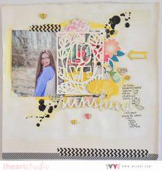 the art of layering:: a scrapbook tutorial by wilna furstenburg @ shimelle.com