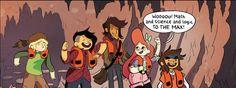 Lumberjanes Comic Book Panels, Disney Characters, Fictional Characters, Comic Books, Comics, Art, Art Background, Kunst, Cartoons
