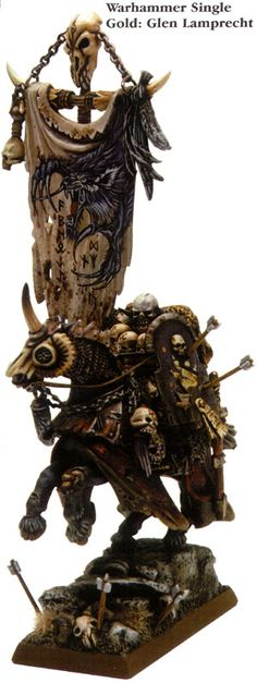 Glen Lamprecht 1st Golden Demon AUSTRALIA 2003 - Category 4 : Fantasy Single Miniature