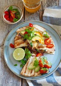 Enkel kyllingcurry til hverdagen - Mat På Bordet Quesadillas, Fajita Quesadilla, Tex Mex, Fajitas, Main Meals, Chicken Recipes, Grilling, Tacos, Food And Drink