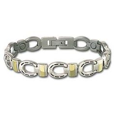 2fb2cdd5a435ce King Ranch - SABONA SILVER HORSESHOE BRACELET Uni