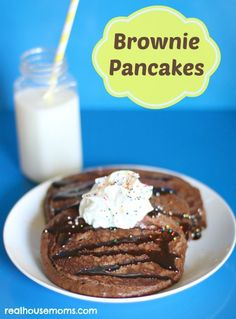 Brownie Pancakes