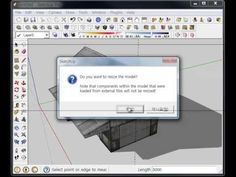 20. SketchUp - 스케치업 줄자 도구 (Tape Measure Tool) 유튜브채널-부지런한소  http://www.youtube.com/user/RenderCOW