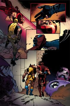 Logan & Cyclops Reunited? First Look At WOLVERINE AND THE X-MEN #40
