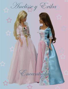 Anneliese and Erika (Princess and Pauper Barbie) by Encantadas.deviantart.com on @deviantART