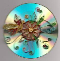 filigraan op oude CD