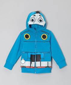 Love this Blue Thomas Mask Zip-Up Hoodie - Toddler by Thomas & Friends on #zulily! #zulilyfinds