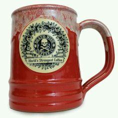 Death Wish Coffee 2018 Ceramic Deneen Pottery Limited Edition 14oz Mug