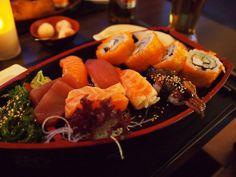 sushi ship @ sakura restaurant, heidelberg