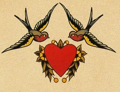swallows • sailor jerry