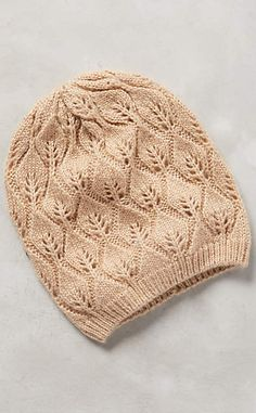 Pointelle Beanie #anthrofave