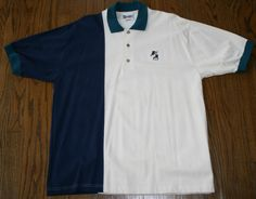 Walt Disney World Mickey Mouse golfing Polo golf Shirt Mens Large, combed cotton #Disney #PoloRugby