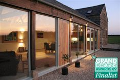 Image detail for -Hardwick Farm Barn Conversions: Contemporary Barn, Converted Barn, Long House, Farm Barn, Stone Houses, Home Reno, Next At Home, Windows And Doors, Exterior Design