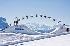 plan de corones kronplatz snowboarding