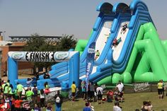 Insane Inflatable 5K Obstacles | Insane Inflatables