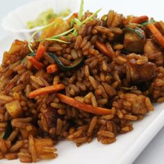 es Kung Pao Chicken, Pulled Pork, Japchae, Bon Appetit, Chicken Wings, Risotto, Cooking Recipes, Beef, Meals