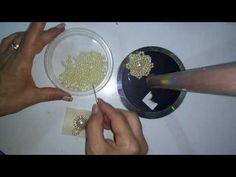 Passo a passo: Chuva de pérolas para decorar laços - YouTube