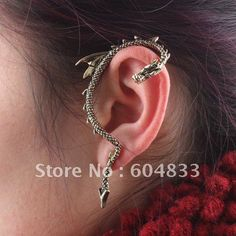 Free Shipping 2012 New Design chinese Dragon Cuff Earrings 2Colors Available High Quality Ear Cuff Chain Alloy Earrings on AliExpress.com. 5% off $16.99