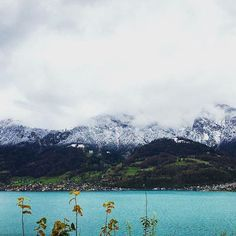 The winter has arrived in Interlaken.