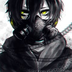 "23i2KO, Kagerou Project, Dark Konoha, Kokonose ""Konoha"" Haruka, Unnaturally White Skin, Hood Down"