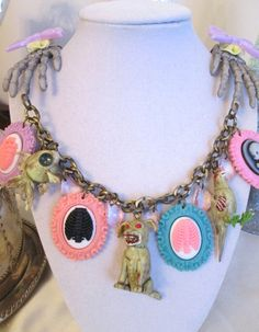 Kawaii Zombie Necklace