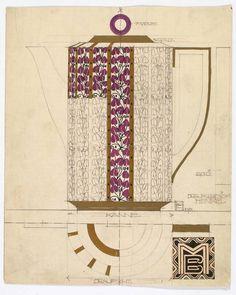Entwurf: Emanuel Josef Margold, 1912