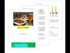 Beer garden business plan pages Business Plan Example, Beer Garden, Business Planning, Chart, How To Plan, Shop Plans