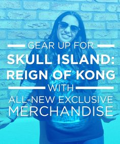 Hats, t-shirts and more! Gear up for Skull Island: Reign of Kong by checking out this exclusive merchandise.