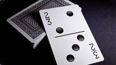 Bicycle® Double Nine Domino Deck