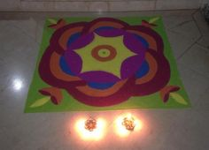 Colorful Rangoli Designs for Diwali