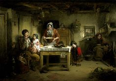 Home and the Homeless − Thomas Faed − F − Artists A-Z − Online Collection − Collection − National Galleries of Scotland (1856)