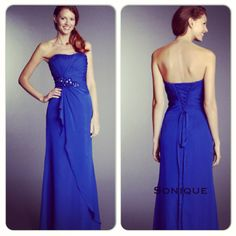 Bridesmaids dress available in other colours  Size 4-28
