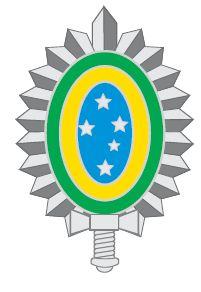 Marca ou Símbolo do Exército Brasileiro. Criado a partir da Portaria nº 885/Cmt Ex, de 4 de novembro de 2008.