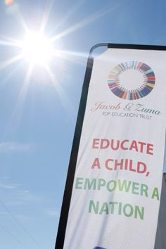 """""""Education is the most powerful weapon which you can use to change the world."""" Nelson Mandela. By educating a child, you are empowering a nation"""