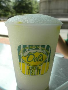 Brings me back to North Kingstown in the late 60's early 70's.... loved loved loved getting a Dell's lemonade.