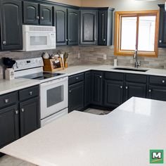 Superior Design Your Dream Kitchen With RiverStone™ Quartz Countertop! Available In  18 Vibrant Colors And