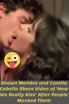 Shawn Mendes and Camila Cabello Share Video of 'How We Really Kiss' After People Mocked Them Song Lyrics Meaning, Shawn Mendes, Mtv, Fun Facts, Funny Memes, Entertaining, Songs, Humor, Celebrities