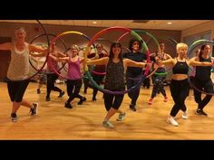 """""""BOYS"""" by Lizzo - Dance Fitness Workout with Weighted Hula Hoops Valeoclub Dance Flexibility Stretches, Back Flexibility, Workout Songs, Workout Videos, Exercise Workouts, Exercise Videos, Hula Hoop Song, Weighted Hula Hoops, Hula Hoop Workout"""